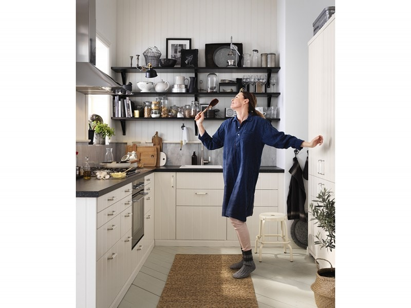 Mensole Cucina Design. Top Idee Di Design Cucina Attrezzata Mensole ...