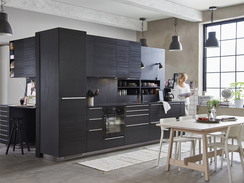 cucine ikea: tutte le novità del catalogo 2017 - grazia.it - Cucina Acciaio Ikea