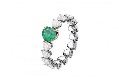 degrisogono-anello-cuore-collection-verde