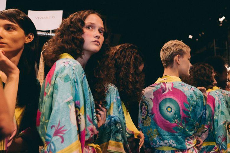 Desigual Primavera-Estate 2016: il backstage della sfilata