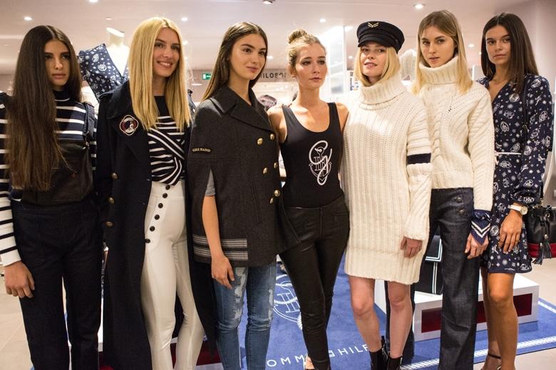 Stile da IT GIRL: Chiara Capitani cura i look della sfilata TommyXGigi