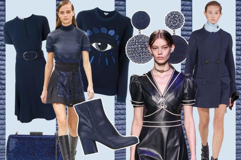 Blu navy: la tendenza per l'Autunno-Inverno 2016