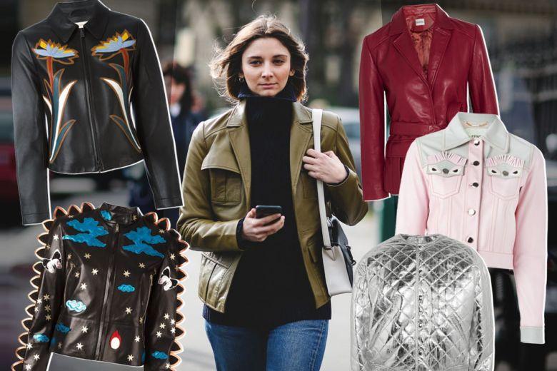 Le giacche in pelle per l'Autunno 2016