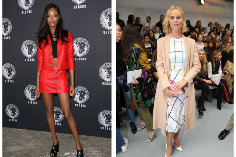 Le star in front row alla London Fashion Week P/E 2017