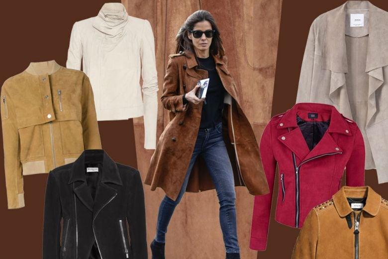Le giacche in suede per l'autunno 2016