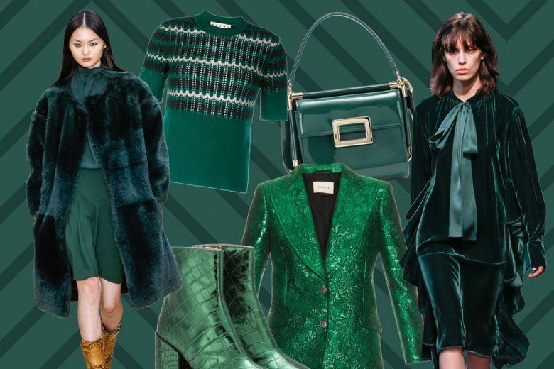 Verde smeraldo: la tendenza per l'Autunno-Inverno 2016