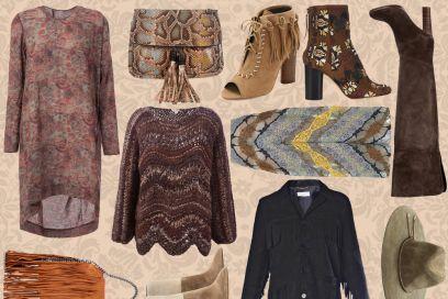 Look gipsy: la tendenza per l'Autunno-Inverno 2015