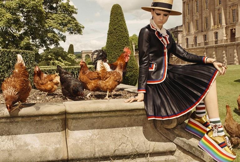 A Portrait of Chatsworth, la campagna Cruise 2017 di Gucci