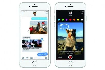 iPhone7messaggi ios 10