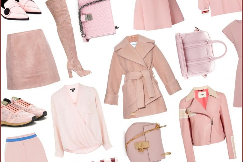 Tendenza Rose Quartz: capi e accessori nel color #1 Pantone 2016