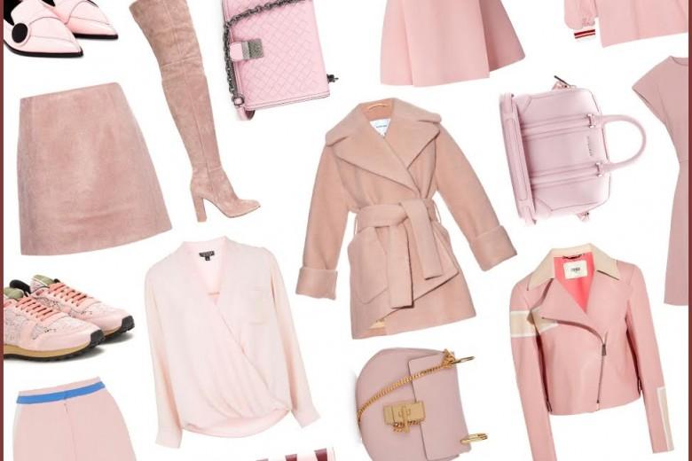 Tendenza Rose Quartz: capi e accessori nel color #1 Pantone 2016