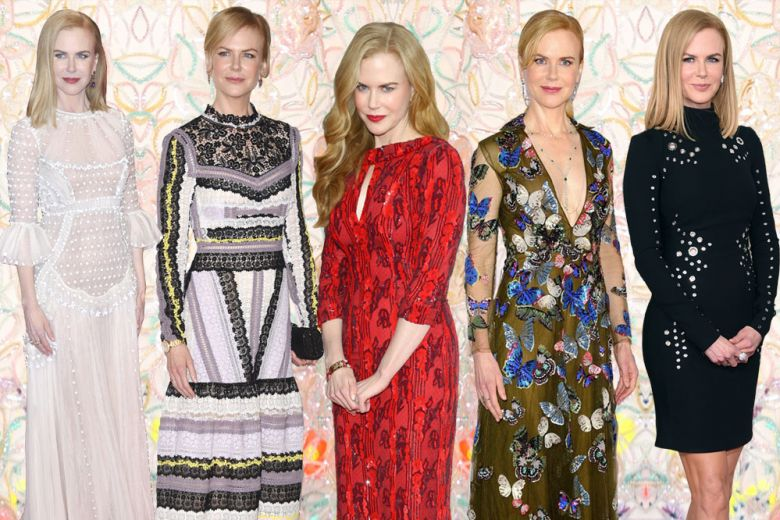Nicole Kidman, regina di stile: i look più raffinati sul red carpet