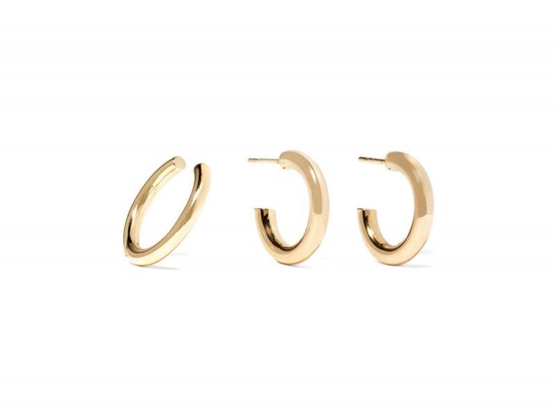 jennifer-fisher-orecchini-dorati-cerchio