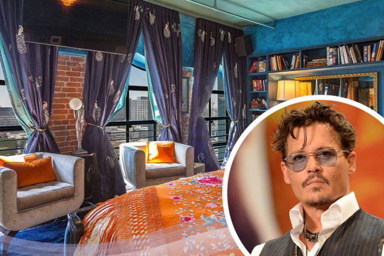La casa di Johnny Depp a Los Angeles