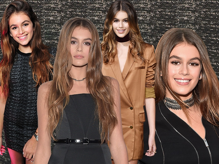 kaia gerber beauty look figlia cindy crawford mobile(5)