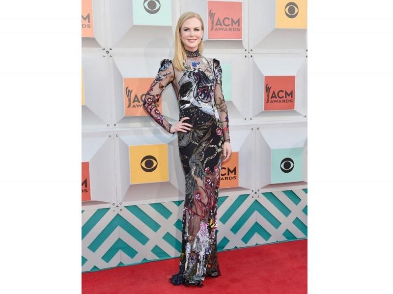 nicole kidman Academy of Country Music Awards alexander mcqueen