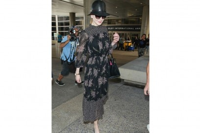nicole kidman maxi dress a fiori
