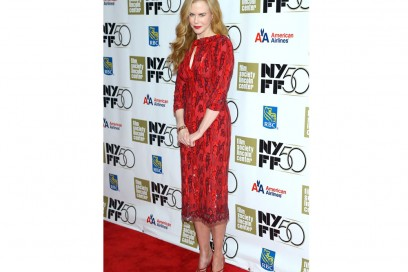 nicole kidman tubino rosso L'Wren Scott dress