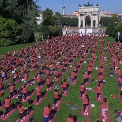 L'Oysho Yoga Day torna a Milano sabato 1 ottobre