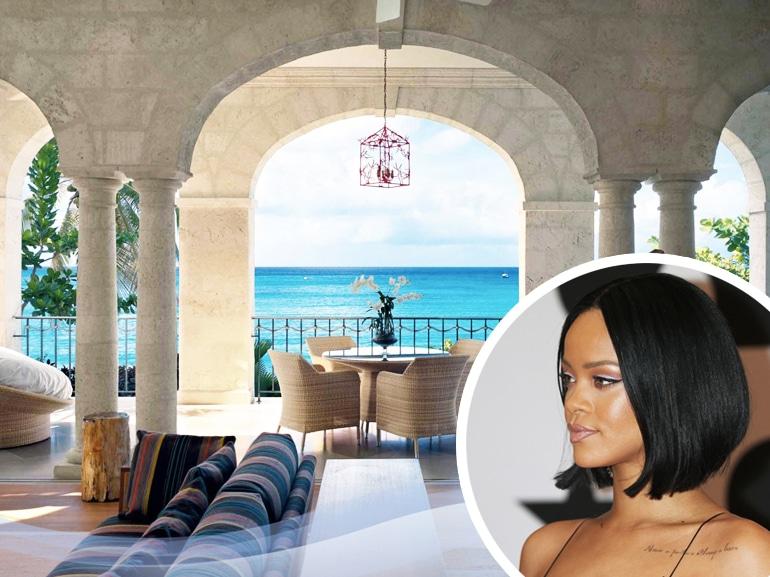 Rihanna In Vasca Da Bagno.La Casa Di Rihanna Alle Barbados Grazia