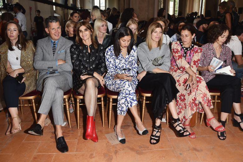 Le star in front row alla Milano Fashion Week P/E 2017