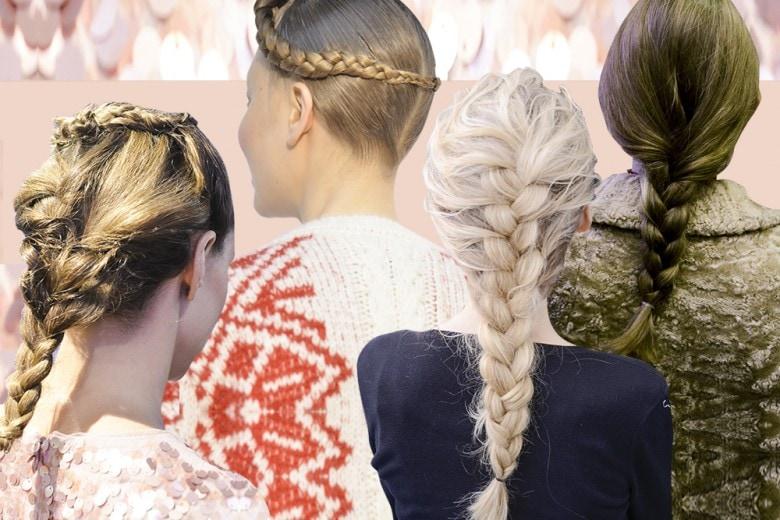 Trecce: la tendenza capelli da copiare per l'autunno inverno 2016-17