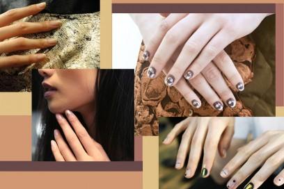 Unghie: nail art metalliche per l'Autunno-Inverno 2016-17