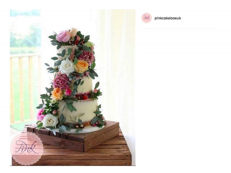 wedding-cake-pink-cake-box-uk