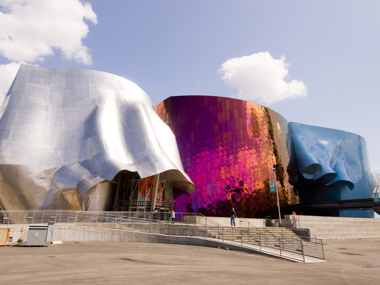 04B Experience Music Project building Seattle Washington USA