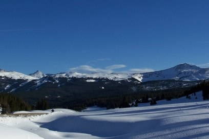 Colorado Vail Pass winter landscape; Shutterstock ID 2325689
