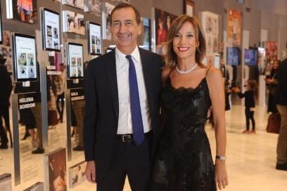 Beppe Sala;Silvia Grilli
