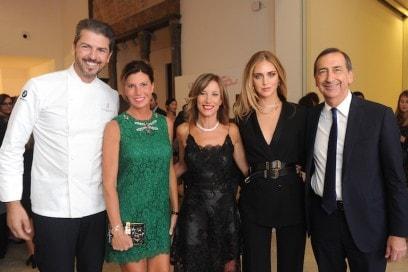 Andrea Berton;Sandra Vecchi Berton;Silvia Grilli;Chiara Ferragni;Beppe Sala