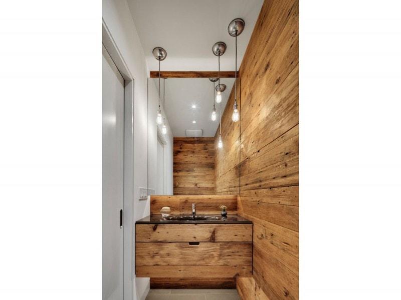 20 idee per rinnovare le pareti di casa con il legno grazia - Rivestire parete con legno ...