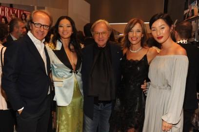 Andrea Della Valle;Tina Leung;Diego Della Valle;Silvia Grilli;Nicole Warne