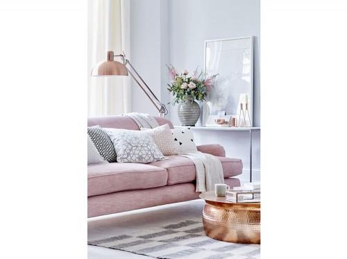 Divano Rosa Cipria : Divano rosa best divano design scandinavo in tessuto posti rosa
