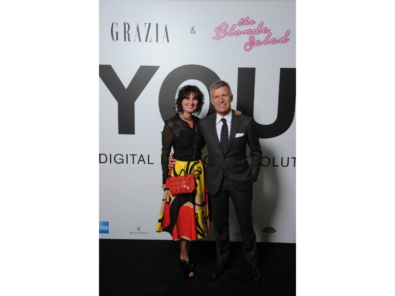 3_Carlo Mandelli DG Periodici Italia Mondadori e la moglie Francesca Campioli