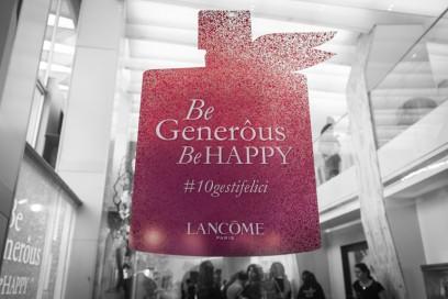 Chi è generosa è più felice, e con Lancôme anche più bella