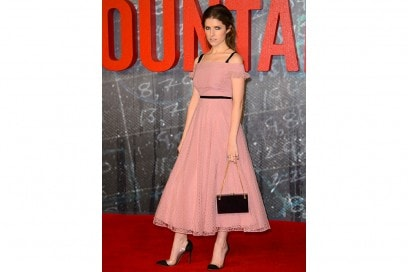 ANNA-KENDRICK in Burberry