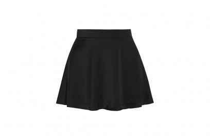 BALLET BEAUTIFUL Stretch-satin jersey wrap mini skirt_NET