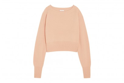 CHLOE Cropped cashmere sweater_NET