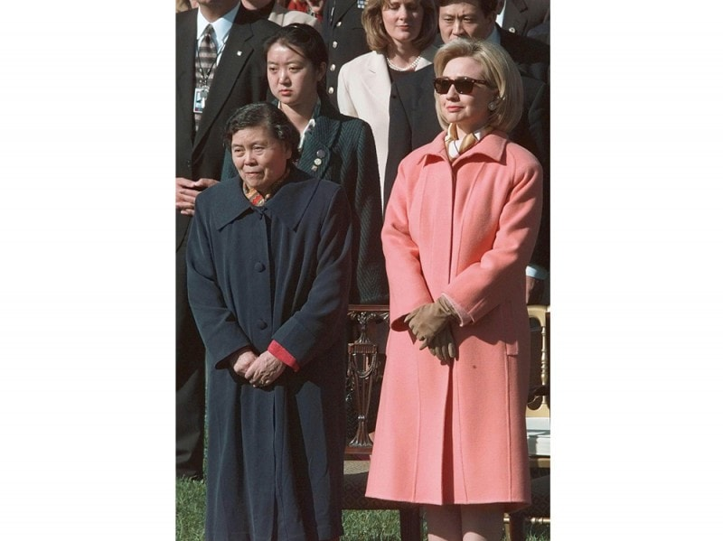 Chinese-President-Jiang-Zemin's-wife