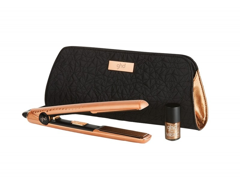 Copper ghd V gift set_with Nails Inc