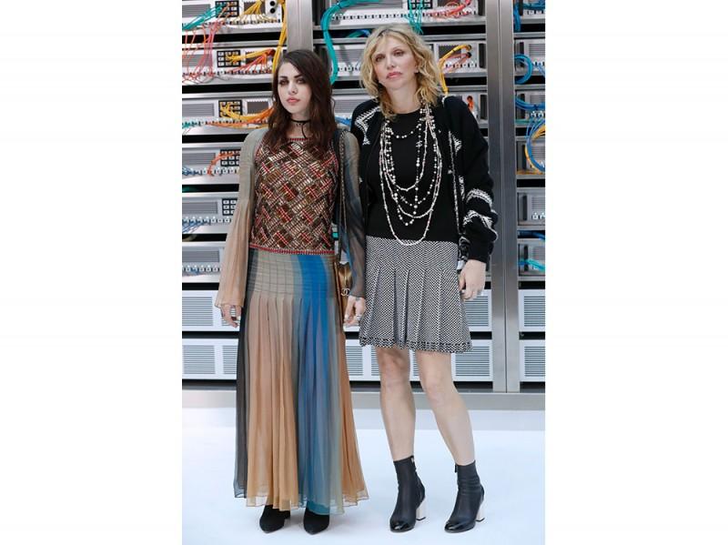 Courtney Love e la figlia Frances Bean Cobain