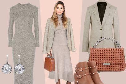 Miroslava Duma e il suo look raffinato in maglia: da provare