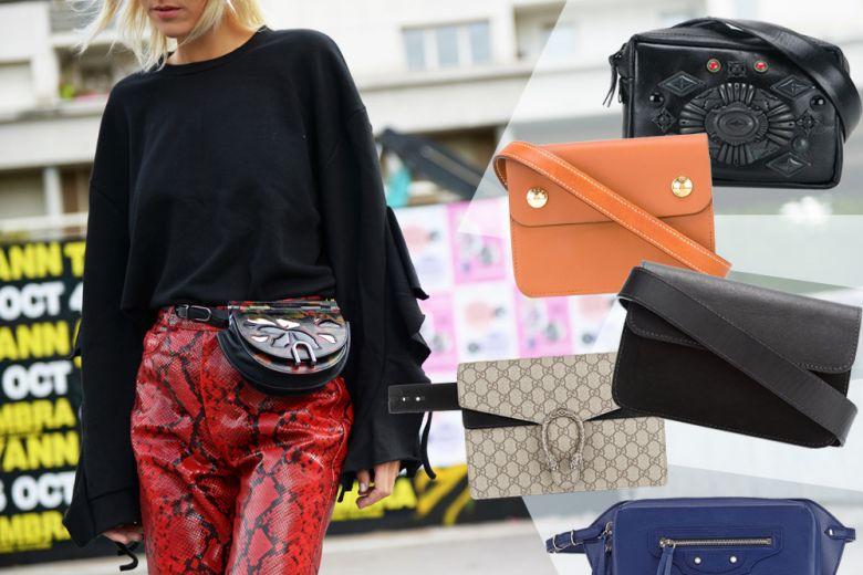 Belt bag: i 10 modelli per l'Autunno-Inverno 2016/17