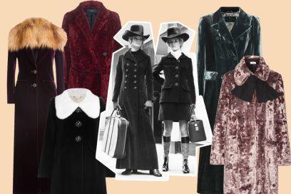 Cappotti in velluto: i modelli must have dell'Autunno-Inverno 2016
