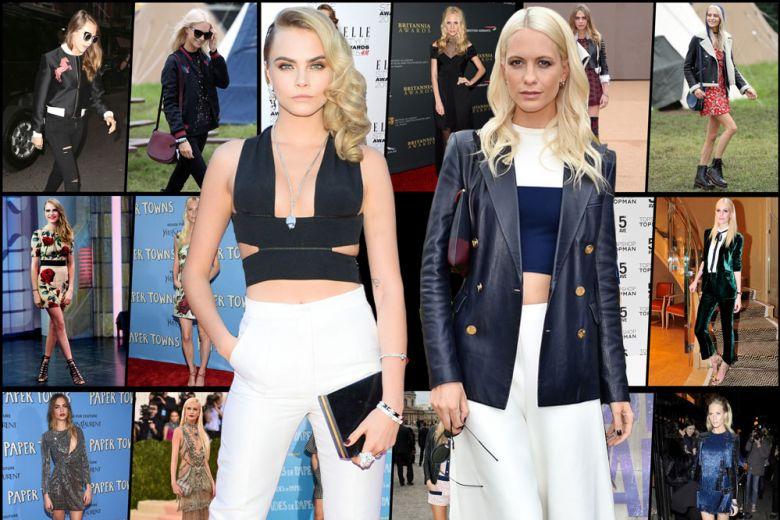 Cara Vs Poppy: lo stile delle sorelle Delevingne a confronto