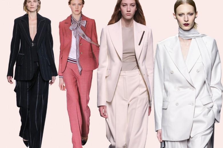 I completi giacca e pantaloni per l'Autunno-Inverno 2016