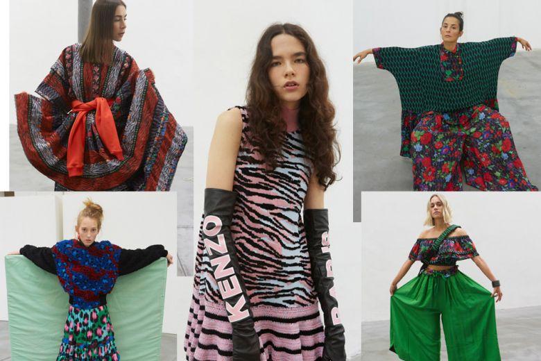 KENZO X H&M: la collezione interpretata da it-girl e modelle