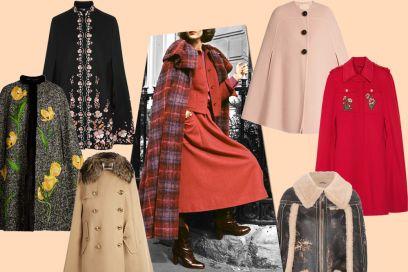 Cappe e mantelle: i modelli must have dell'Autunno-Inverno 2016